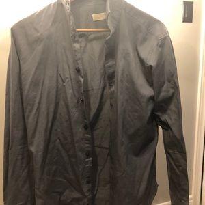 EUC Michael Kors mens dress shirt heavy fabric!!